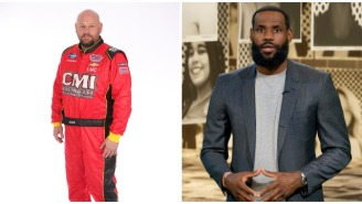 LeBron James Mocks NASCAR Driver Who Quit Over Confederate Flag Banning After Driver Claims His Family's Received Threats