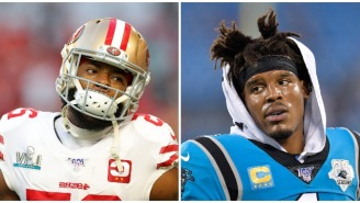 Richard Sherman Calls Former MVP Cam Newton Signing With The Patriots For Peanuts 'Disgusting'