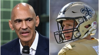 Tony Dungy Explains Why Drew Brees 'Can't Be Afraid' To Say What He Said About 'Disrespecting The Flag' During The National Anthem