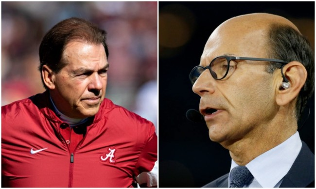 paul finebaum time running out on nick saban