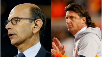Paul Finebaum Says Oklahoma State Should Fire Mike Gundy Following His T-Shirt Controversy