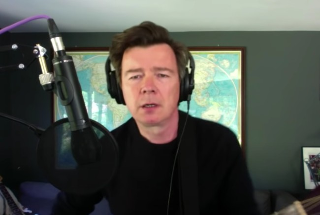 Rick Astley covers Everlong by the Foo Fighters