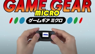 SEGA Is Releasing A 'Game Gear Micro' That's Smaller Than Your Palm