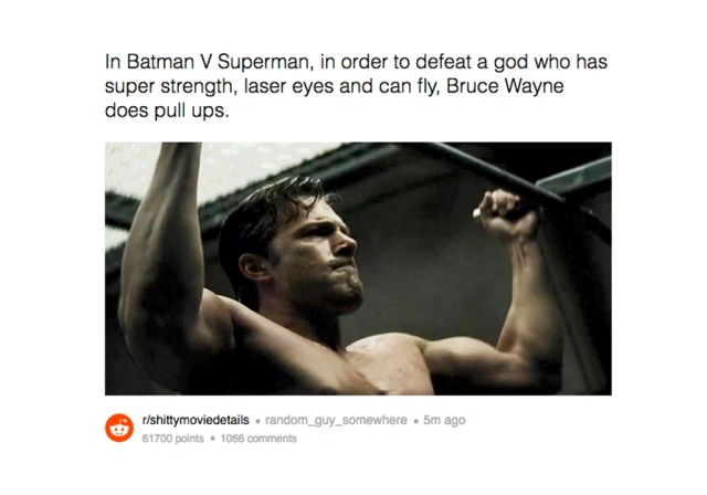 These Reddit Posts Dedicated To Random Facts About Movies Are A Much Needed Laugh Brobible