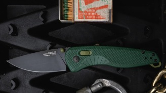 The SOG Knives Aegis AT Is A Perfect Everyday Carry Pocket Knife