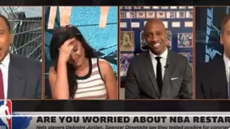 Things Get Awkward On ESPN's 'First Take' After Stephen A. Smith Says NBA Players Will Break Disney Bubble To Go Out And Sleep With Women
