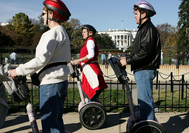 segway production permanently halted