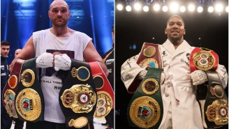 Tyson Fury And Anthony Joshua Reach Agreement On Two-Fight Deal