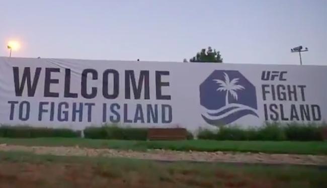 ufc fight island video tour