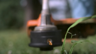 Watching This Weed Eater Evaporate Weeds At 62,000 Frames Per Second Is Incredibly Satisfying