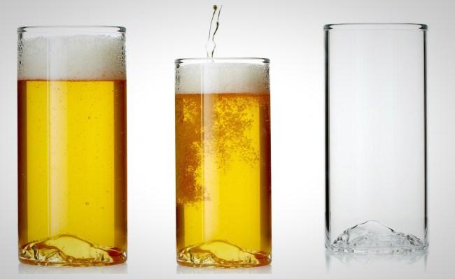 Whiskey Peaks Beer Glasses