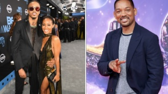 Singer August Alsina Claims Will Smith Gave Him Permission To Date His Wife Jada Pinkett-Smith