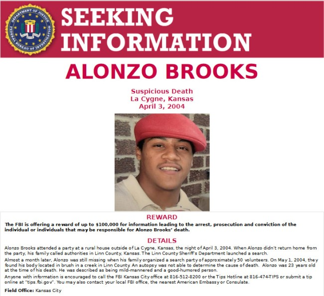 Alonzo Brooks Body Exhumed After Case Appears On Unsolved Mysteries