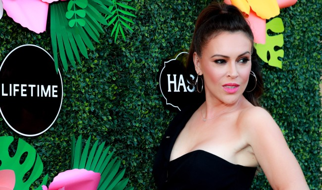 Alyssa Milano Goes Off On People Accusing Her Of Wearing Blackface: 'Go Fuck Yourselves'