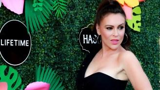 Alyssa Milano Goes Off On People Accusing Her Of Wearing Blackface