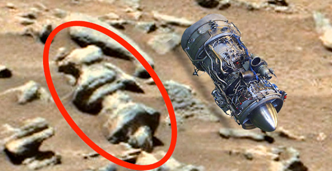Ancient Artifact Found In Photo Of Mars Is Proof Of Aliens
