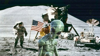Anomalies Spotted On The Moon Are 'Undeniable Proof' Of Alien Life, Claims Expert