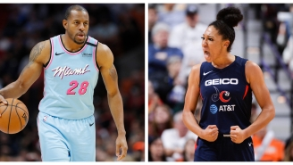 Andre Iguodala Being Shamed For Complimenting A WNBA Player's Performance Is 2020 In A Blender