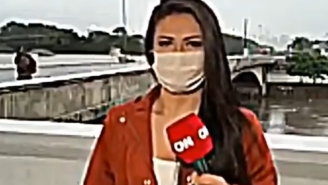 CNN Reporter Mugged At Knifepoint Live On Air Is The Ballsiest Move You'll Watch Today