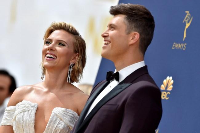 Colin Jost Worried About Being Known As Scarlett Johanssons Boyfriend