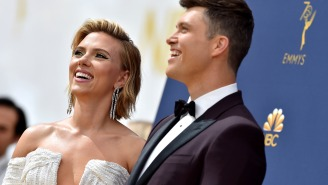Colin Jost Worried He Would Become Known Just As Scarlett Johansson's Boyfriend