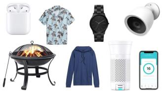 Daily Deals: Air Purifiers, AirPods, Fire Pits, Banana Republic Sale And More!