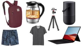 Daily Deals: Kettles, Backpacks, Surface Pros, Tripods, Banana Republic Sale And More!