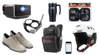 Daily Deals: Travel Mugs, Drill Bit Sets, Portable Projectors, Cole Haan Sale And More!