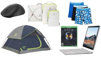 Daily Deals: Halo, Tents, Microsoft Surface Books, Lenovo Mouse, Dockers Sale And More!