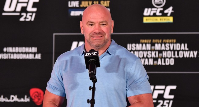 Dana White Approach An Official And I Will Fire You On The Spot