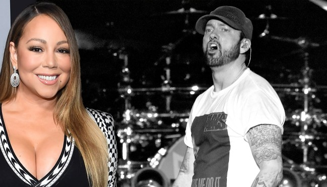 Eminem Is Reportedly 'Stressed Out' About Mariah Carey's Upcoming Autobiography