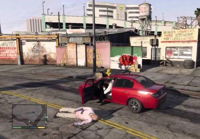GTA 5 no crimes