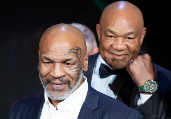 George Foreman worried Mike Tyson Roy Jones