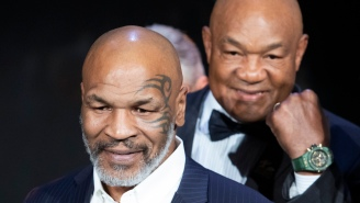 George Foreman Worried Mike Tyson And Roy Jones Jr. Will Get Seriously Hurt During Exhibition Fight