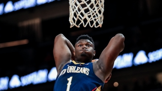 The Internet Reacts To Zion Williamson Looking Absolutely Jacked Before NBA Restart In Orlando