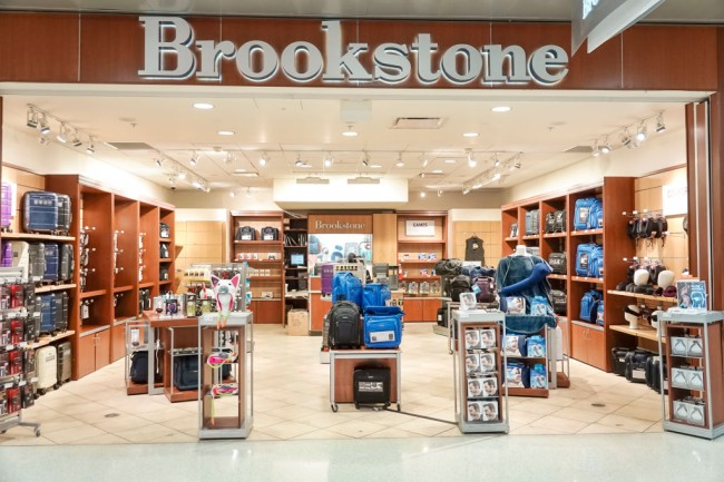 brookstone stores in mall