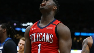 Zion Williamson Gifted Himself A Custom Blinged-Out Thanos Chain For His 20th Birthday