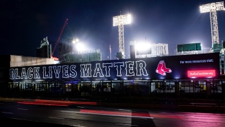 Red Sox Fans Post Angry Messages On Social Media After Team Puts Up 'Black Lives Matter'Mural Outside Of Fenway Park