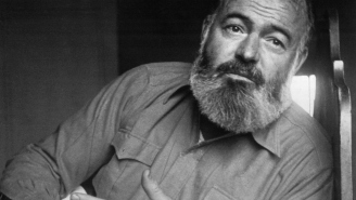 Happy Birthday To Ernest Hemingway, The Man Other Men Quote To Sound Manly
