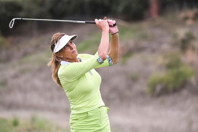 caitlyn jenner golf brilliantly dumb show