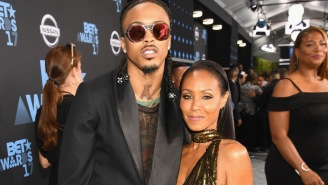 August Alsina Fires Back At Jada Pinkett-Smith, Takes Shots At Will Smith With 'Entanglements' Song Featuring Rick Ross