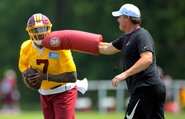 Jay Gruden Reportedly Made It Very Hard For Dwayne Haskins To Succeed