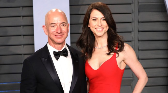 Jeff Bezos Ex-Wife MacKenzie Just Donated 17 BILLION To Charity