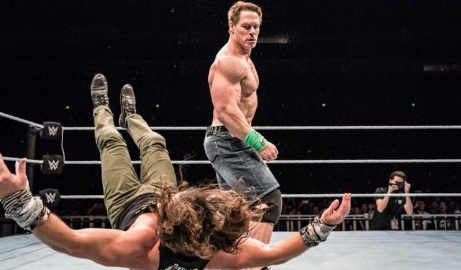 John Cena sixth move of doom