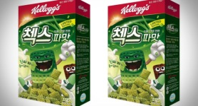 Kelloggs Is Releasing A Green Onion-Flavored Cereal In South Korea