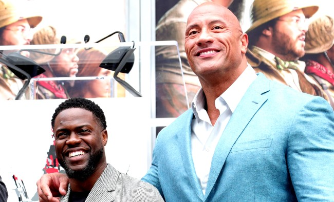 Kevin Hart Hilariously Mocks All Of His Buddy The Rocks Action Movies