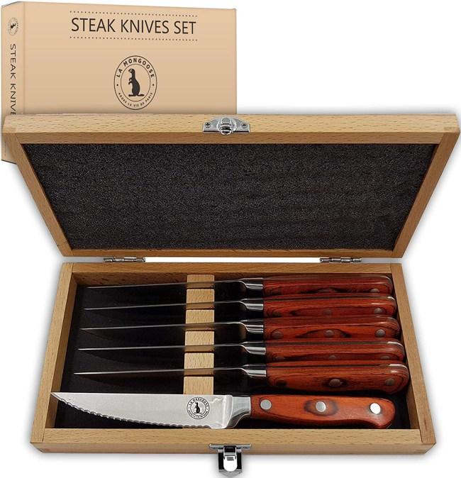 best steak knife sets deals