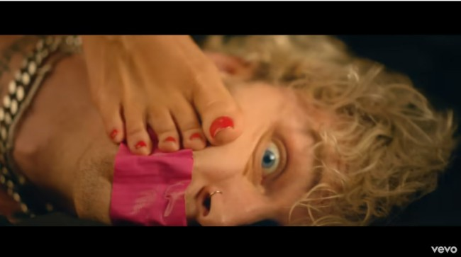 Machine Gun Kelly Says Megan Fox Has Most Beautiful Feet