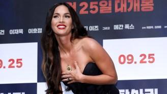 Machine Gun Kelly Claims Girlfriend Megan Fox Has The 'Most Beautiful Feet That Exist'