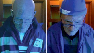 Guy Wearing An Old Man Prosthetic Mask Allegedly Steals $100K From Gamblers At Casino